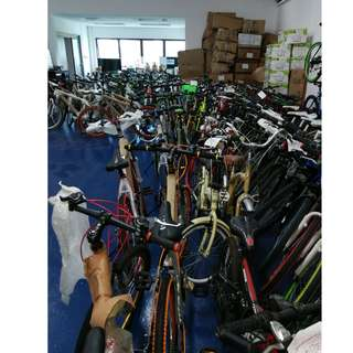 Warehouse Sales For Bicycles, from $80.