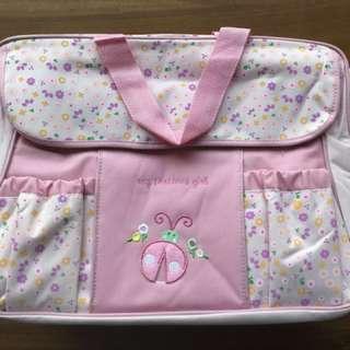 BNWT Sweet Pink Diaper Bag