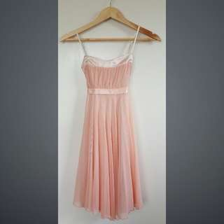 Formal Peach Dress XS