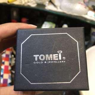 Tomei 18K White Gold & Diamond Cluster Ring