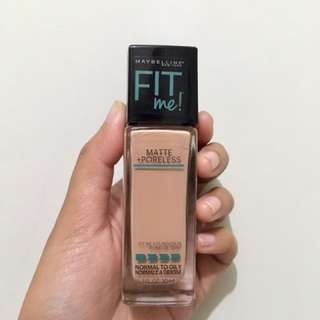 Maybelline fit me matte + poreless shade 235 pure beige