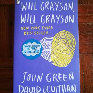 Will Grayson by John Green & David Leuithan