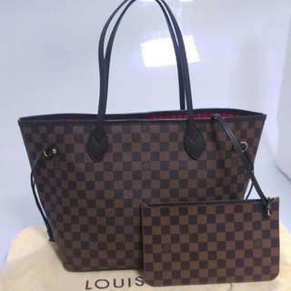 LOUIS VUITTON Neverfull MM(中)