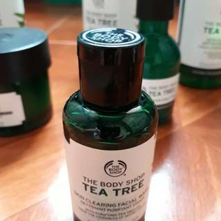 The body shop facial wash 60ml