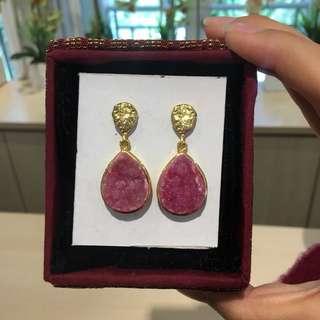 Semi Precious Stone Earings