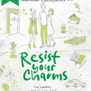 Ebook Resist Your Charms - Ega Dyp
