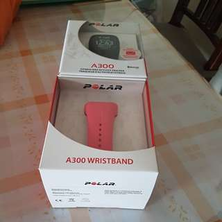 Polar A300 fitness watch (selling together with spare wristband)