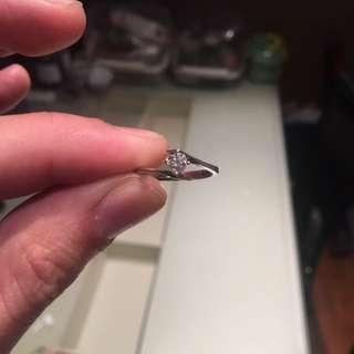 0.26 Carat Diamond Ring (with IGI cert) Mabelle