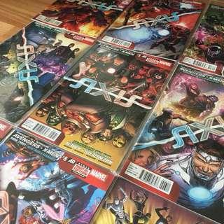 Marvel AXIS 1-9