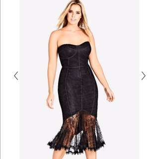city chic 'so seductive' dress size small