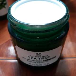The body shop tea tree oil night mask