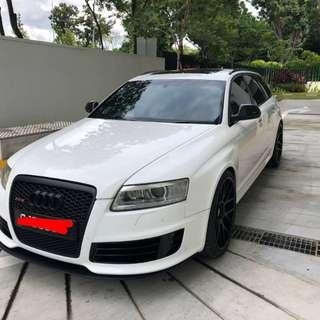 Audi RS6 5.0L V10
