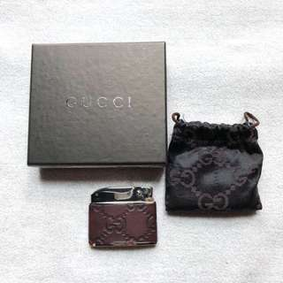 [絕版] Gucci Monogram lighter 🔥打火機