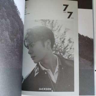 [READY STOCK] GOT7 7 FOR 7 PRESENT EDITION (JACKSON LYRICS COVER)