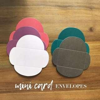 DESTASH mini metallic envelopes