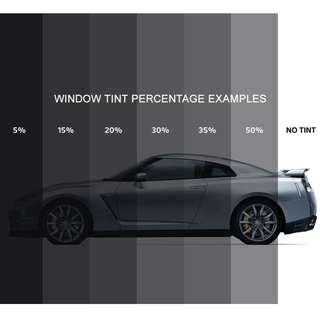 LTA Approve - Car Solar Film - Window Tinting