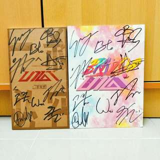 UP10TION SIGNED ALBUM