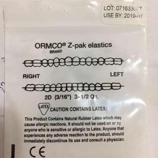 Braces latex orthodontics