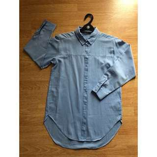 ZARA - blue blouse (new)