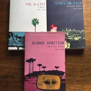 the a-list novel