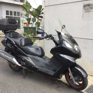 Honda silver wing 400cc Register year 2008