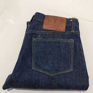 Old blue co not nudie iron heart momotaro denim