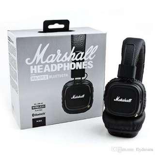 Marshall Major 2 Bluetooth Headphone 無線藍芽耳罩式耳機