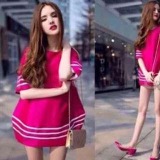 Mini dress fit to L