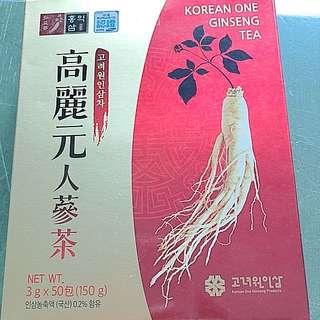 韓國高麗元人蔘茶