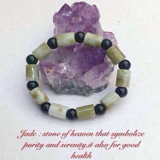 Jade Lucky Charm Bracelet UNISEX