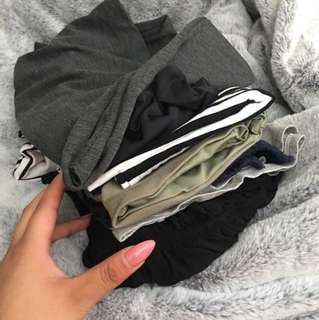 Mystery stack of clothes