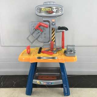 Mickey Work Bench with Tools