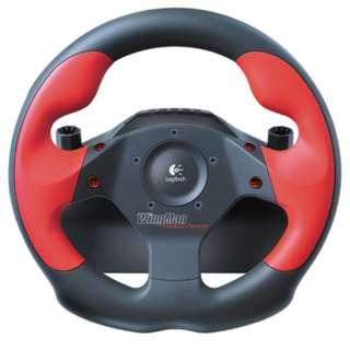PC Logitech Wingman Formula Force GP Racing Wheel with Pedals (Mint)