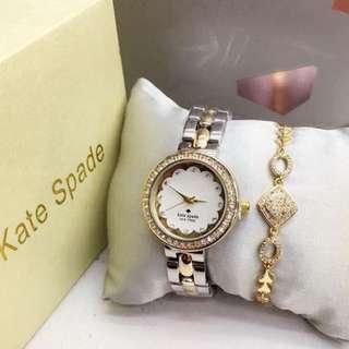 Kate Spade Watch with Bracelet