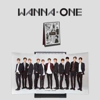 Wanna One  2018 樂天官方年曆