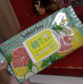 Saborino Grapefruit Morning Mask