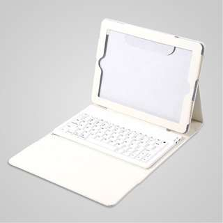 Fashion Stand Leather Case Cover with Bluetooth Keyboard For iPad 2 3 4th Gen ES