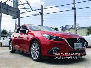 14年魂動Mazda3  受夠天冷還要騎車吹風淋雨?歡迎來電讓您免受寒風折磨0938-552-004煒翔