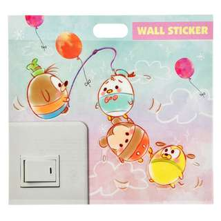 JAPAN DISNEYSTORE, JAPAN IMPORTED: Wall sticker collection -Ufufy fun wallsticker