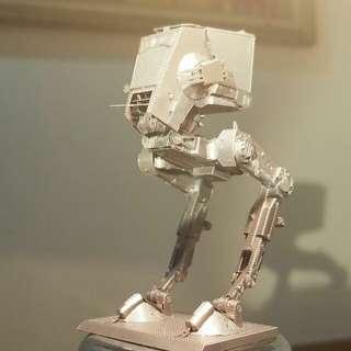 AT-ST (Star Wars金屬錫刻模型) (完成品)