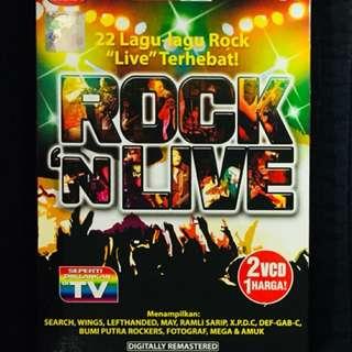 Rock 'N Live - 22 lagu2 Rock Live Terhebat 2VCD set
