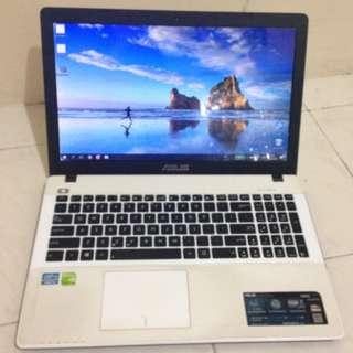 Laptop Asus A550CC Corei5 Ram 4GB Hdd 750GB Nvidia GeForce GT 720M 2GB