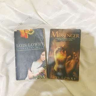 Lois Lowry Bundle: The Giver and The Messenger