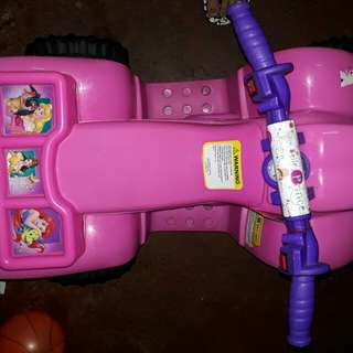 RECHARGEABLE MOTORBIKE FOR GIRL