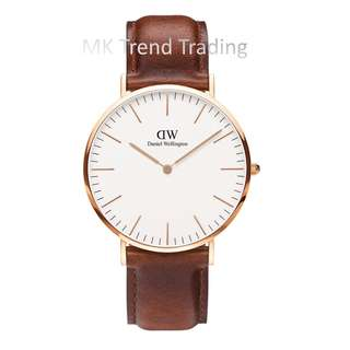 [AUTHENTIC] DANIEL WELLINGTON CLASSIC ST MAWES 40MM Gold [2 YEARS WARRANTY]