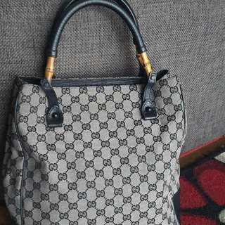 Original Tas Gucci Bamboo second