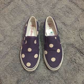 NEW! Cath Kidston Slip-on Shoes (AUTHENTIC)