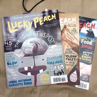 🍀🍑 Early issues of LUCKY PEACH #1 2 3 & 4!!!
