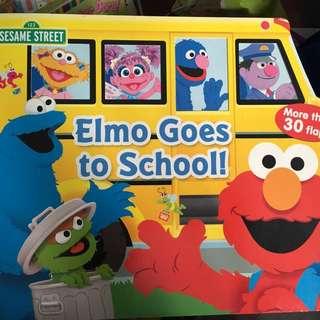 Sesame Street Flip Flap book