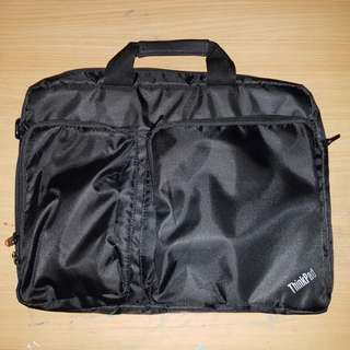Thinkpad note book bag 全新 可變背包